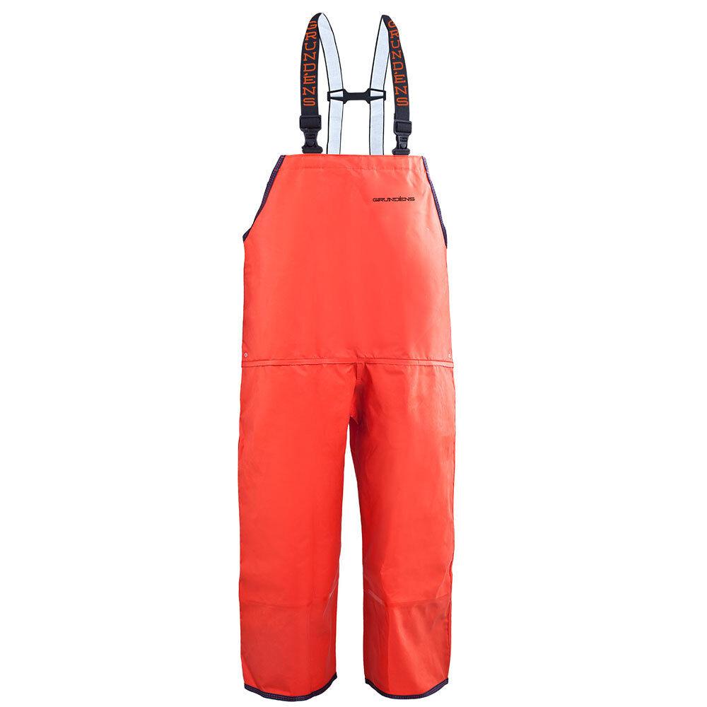 Grundens Harvestor  HD 17 Bib Pants Trousers Heavy Duty - orange - Select Size  for wholesale