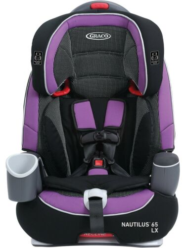 Graco Baby Nautilus 65 LX 3-in-1 Harness Booster Car Seat Child Safety Raquel