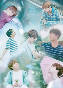 BTS-LOVE-YOURSELF-HER-5th-Mini-Album-CD-POSTER-2ea-Book-P-Card-Sticker-SEALED