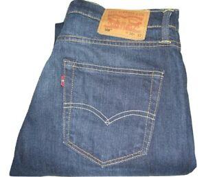 bb3e5be3 Mens LEVI'S 508 Dark Blue Regular Tapered Stretch Jeans W30 L32 Hole ...