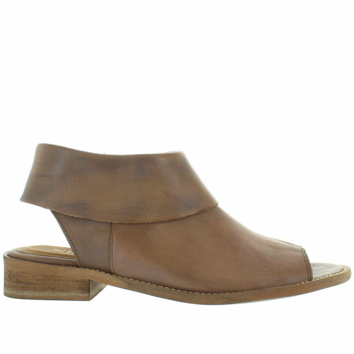 Musse & Cloud Anemone - Taupe Brown Sandal Bootie