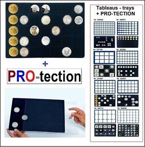 2-Leuchtturm-331597-Plateau-pour-Monnaies-35-Cases-39-mm-Protection-Pro