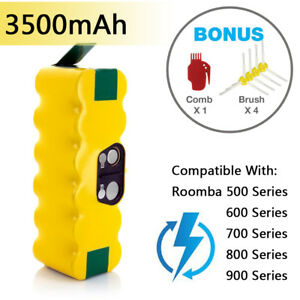 2 x Battery for iRobot Roomba 500 600 700 800 Series 595 620
