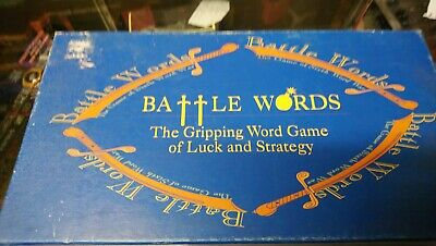 William Maclean's Games Battaglia Parole Card Game. Gioco è Completo.-mostra Il Titolo Originale Acquista Sempre Bene