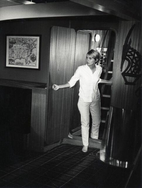 Jean Seberg 1961, tirage argentique original d'agence