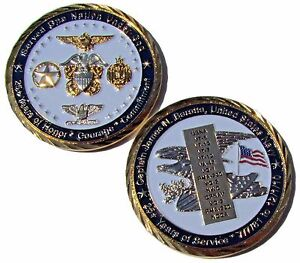 US-Navy-Captain-James-N-Baratta-25-Years-of-Service-Challenge-Coin