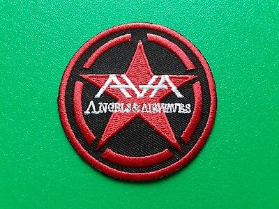 ANGELS AND AIRWAVES MUSIC PATCH POP PUNK ROCK HEAVY METAL SEW or IRON ON a