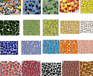 40 50 handbemalte bruchmosaik steine mosaiksteine mosaik. Black Bedroom Furniture Sets. Home Design Ideas