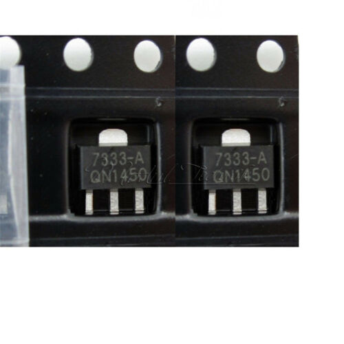 20Stks 3.3V SOT-89 Low Power Consumption LDO HT7333-A HT7333 Voltage Regulator