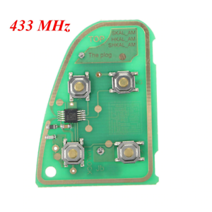 Details about 4 BUTTONS 315/433MHz REMOTE KEY FOB CIRCUIT BOARD FOR JAGUAR  X TYPE XJ XJR