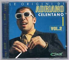 ADRIANO CELENTANO LE ORIGINI VOL. 2 CD F.C.