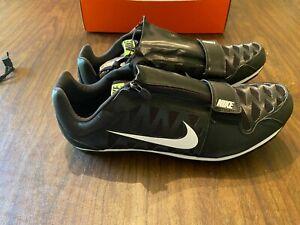 Nike Zoom LJ 4 NIB Black Track \u0026 Field