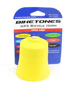 BIKETONES-BICYCLE-HORN-YELLOW
