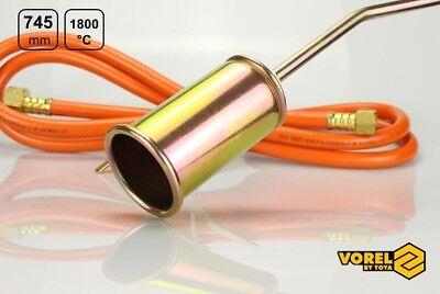 Sonstige RüCksichtsvoll Gasbrenner Dachbrenner 745mm 28 Kw Unkrautvernichter Gaslötgerät Abflammgerät Reinigen Der MundhöHle.