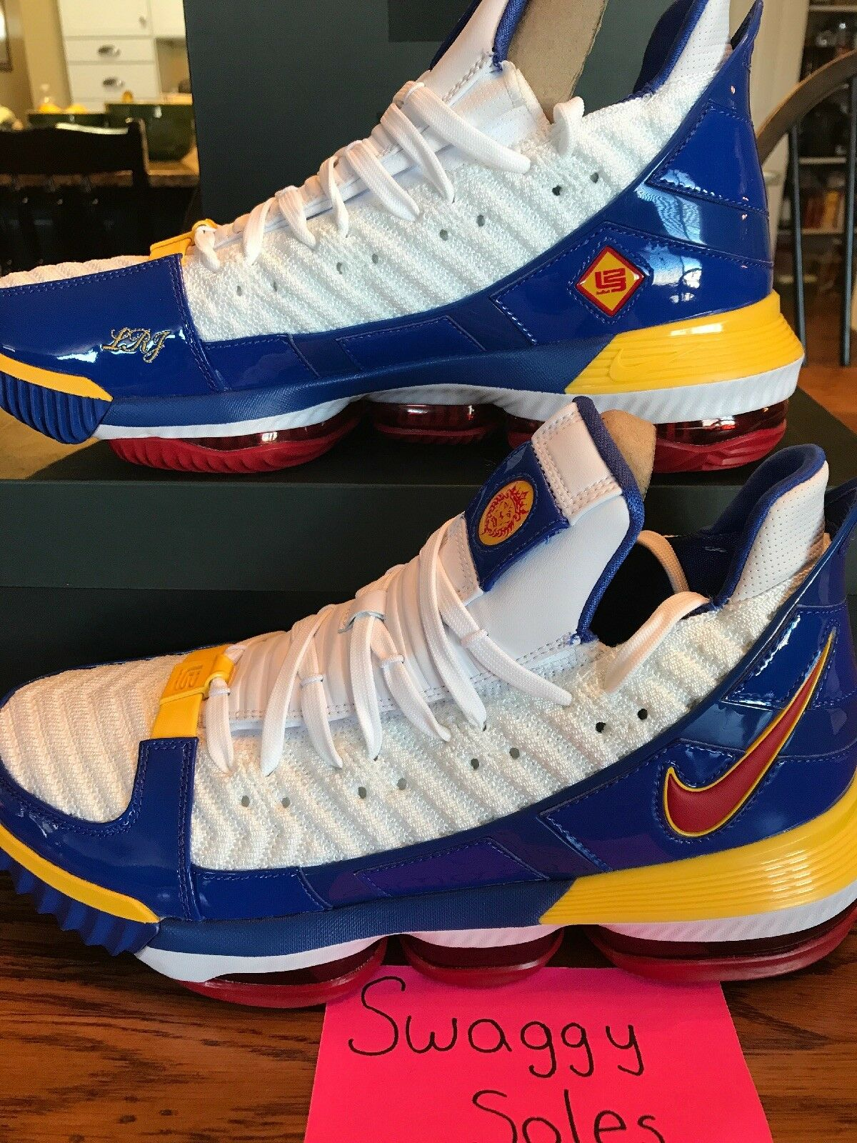 Nike LeBron 16 Superbron Superman Size 11 New XVI DS Never Worn House Of Hoops