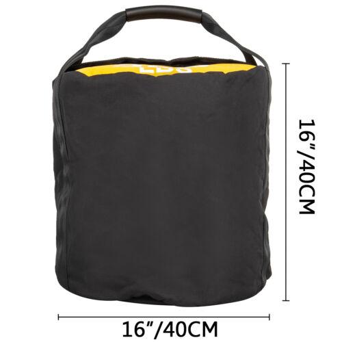 Sandsack Fitness Sandsack 45 kg//100 Pfund Tragen Reißverschluss Kniebeugen