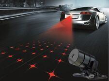 12V Warning Light Car Laser parking light brake light decoration Cross star lamp