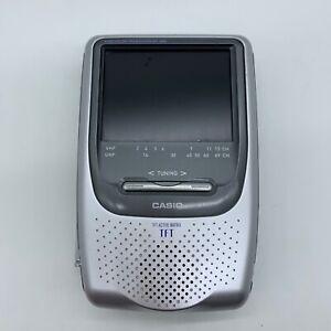 Vintage Casio Handheld LCD Color Television EV-680B Analog TFT Active Matrix