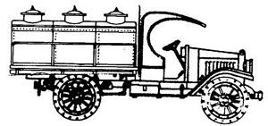 HO-HOn3-WISEMAN-OT5107-KLEIBER-OPEN-CAB-OVAL-TANK-TRUCK