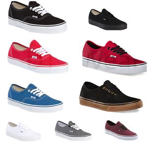 b06daeec2b Vans New Authentic Classic Sneakers Men Women Sizes Shoe All Colors ...