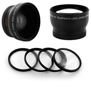 HD-WIDE-ANGLE-0-45x-TELE-2X-MACRO-LENS-KIT-for-Nikon-D7000-D3100-D5100-D3200