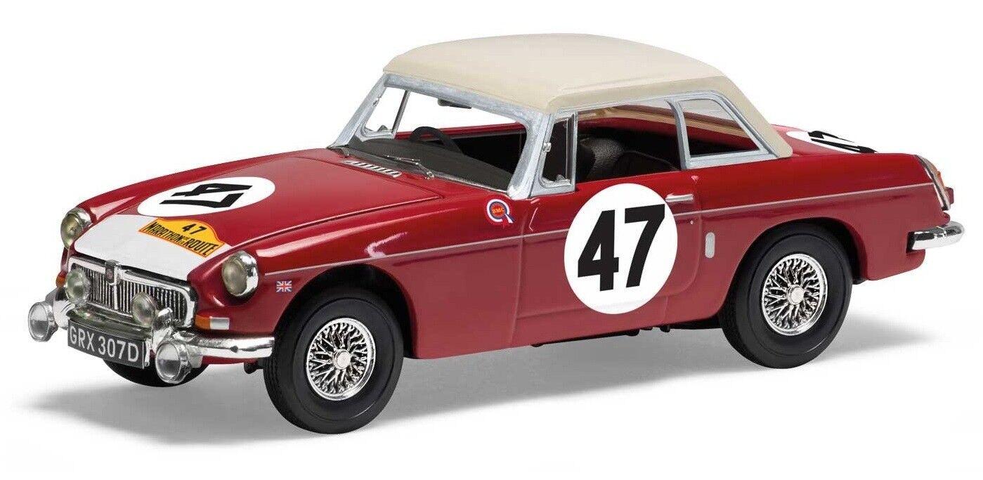 CORGI VANGUARDS VA10710 - 1 43 MGB 1966 MARATHON DE LA ROUTE WINNER