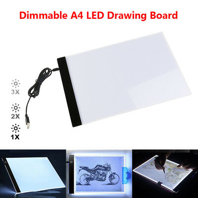 disegno A4/Tracing Light box art Craft tavolo da disegno per artisti A4/Light box LED copia Board disegno Light Pad con cavo USB schizzi animazione design
