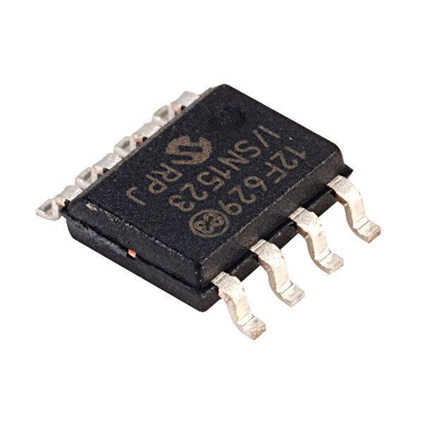 Microchip PIC12F629-I/SN Microcontroller SMD 8-bit SOIC8