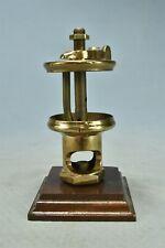 Antique Lunkenheimer Paragon 2 Brass Sight Feed Glass Body Oiler Parts 02496
