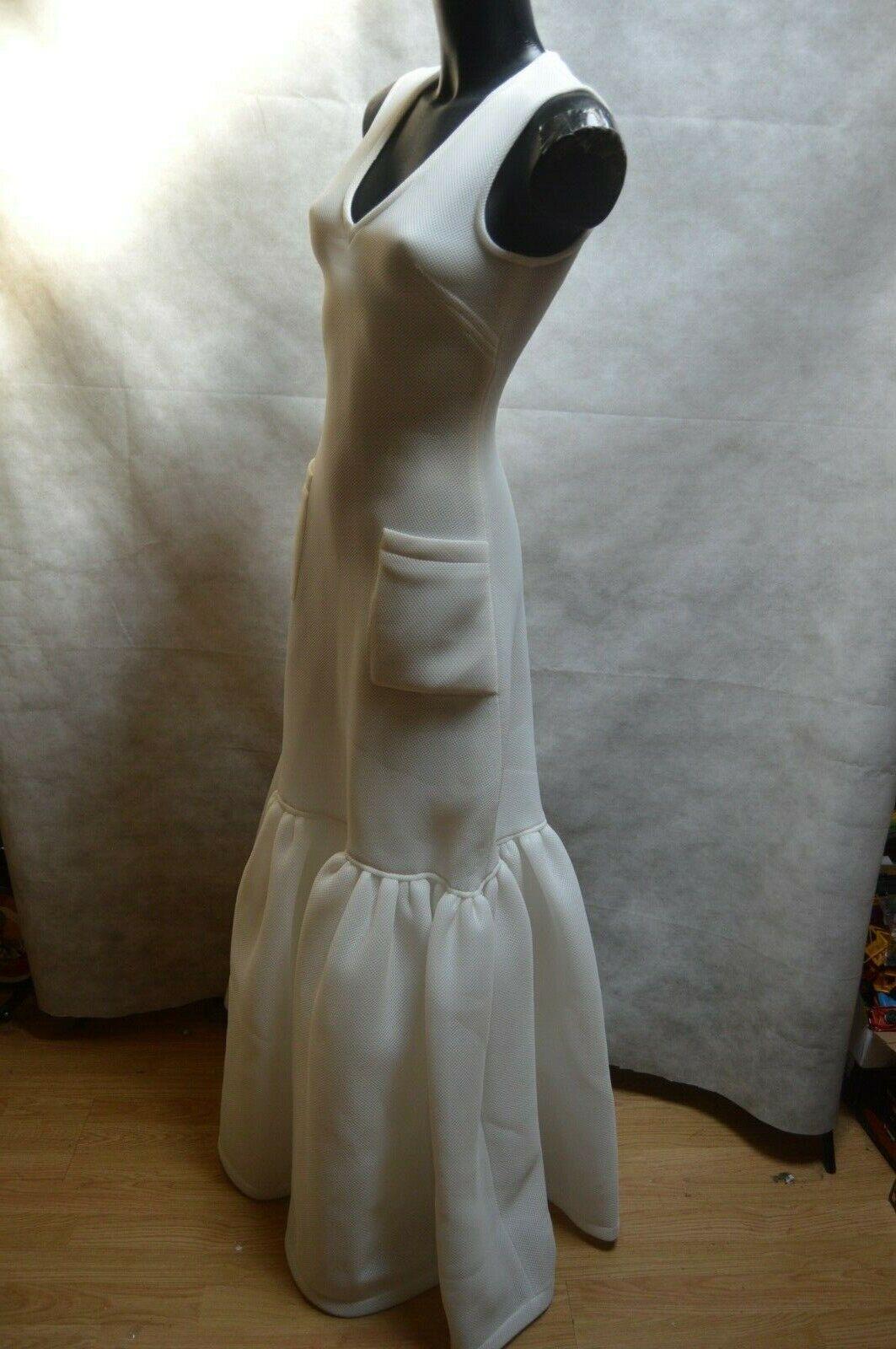 Dress Marie Alexis Mabille Größe XS 34 Dress   Abito  Vestido Dress Wedding New