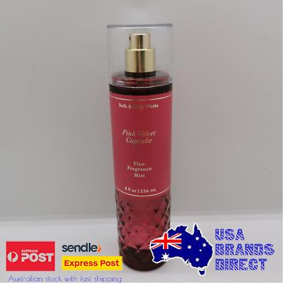 Details about  Bath & Body Works Ultra Shea Perfume Fragrance Mist - Pink Velvet Cupcake