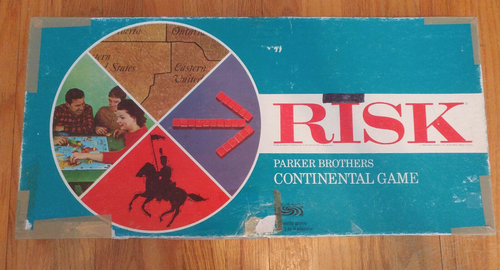Vintage 1963 Risk Board Game, Complete