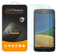 2X Supershieldz Motorola Moto G5 Tempered Glass Screen Protector Saver