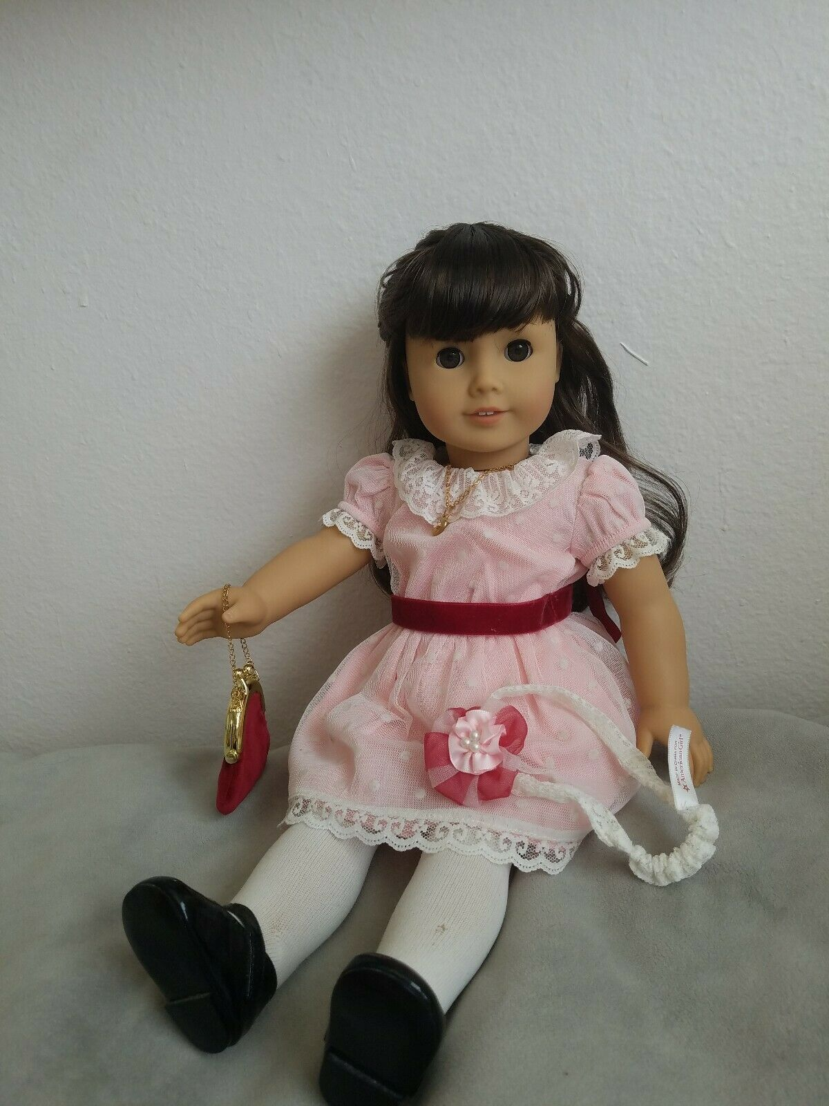 Beforever Samantha American Girl Doll With Book and Accessories Bundle