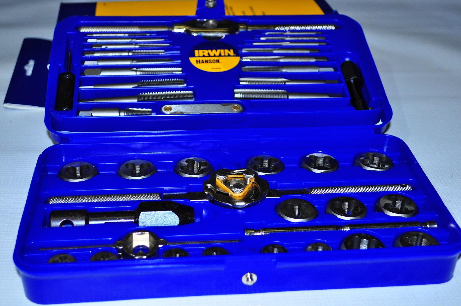 Hanson Tap & Hexagon Die Set - 41 Pcs Inch  4 -1/2