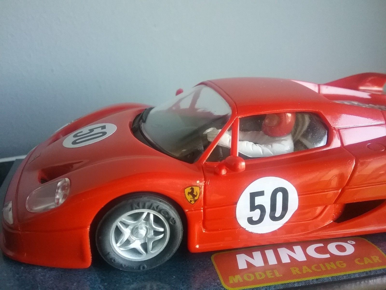 Ferrari F-50 Made by NINCO SLOT SCALEXTRIC VOITURE Ed.1996 Ref.50123