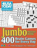 Usa Today Jumbo Puzzle Book: 400 Brain Games For Every Day By Usa Today, (paperb on sale