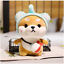 thumbnail 4 - Cute-Kawaii-Shiba-Inu-Corgi-Dog-Plush-Toy-Pikachu-Elephant-Bunny-Strawberry
