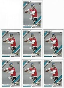 2019-Donruss-Gardner-Minshew-Rookie-Lot-Of-7-No-292-Jaguars-TI