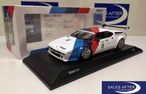 Original BMW Miniatur M1 Procar Heritage Racing Collection 1:18 Sammlermodell