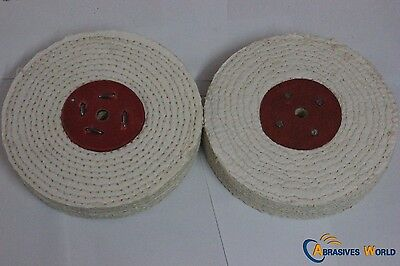 "8"" 200mmX12.5mm Sisal Buffing Wheel for polishing metal and stainless steel."