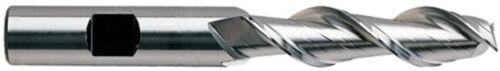 "5//8/"" 2 Flute 4/"" LOC SE HSS 42° Hi Helix End Mill for Aluminum YG1 #19087"