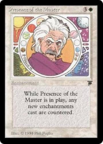 MTG Presence Of The Master LP Legends