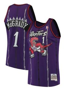 Tracy McGrady  1 Toronto Raptors Mitchell Ness Mesh NBA Throwback ... cb2d82dc0