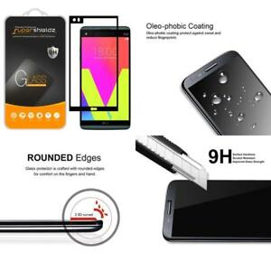 [2-Pack] Supershieldz For Lg V20 Tempered Glass Screen Protector, [Full Screen C