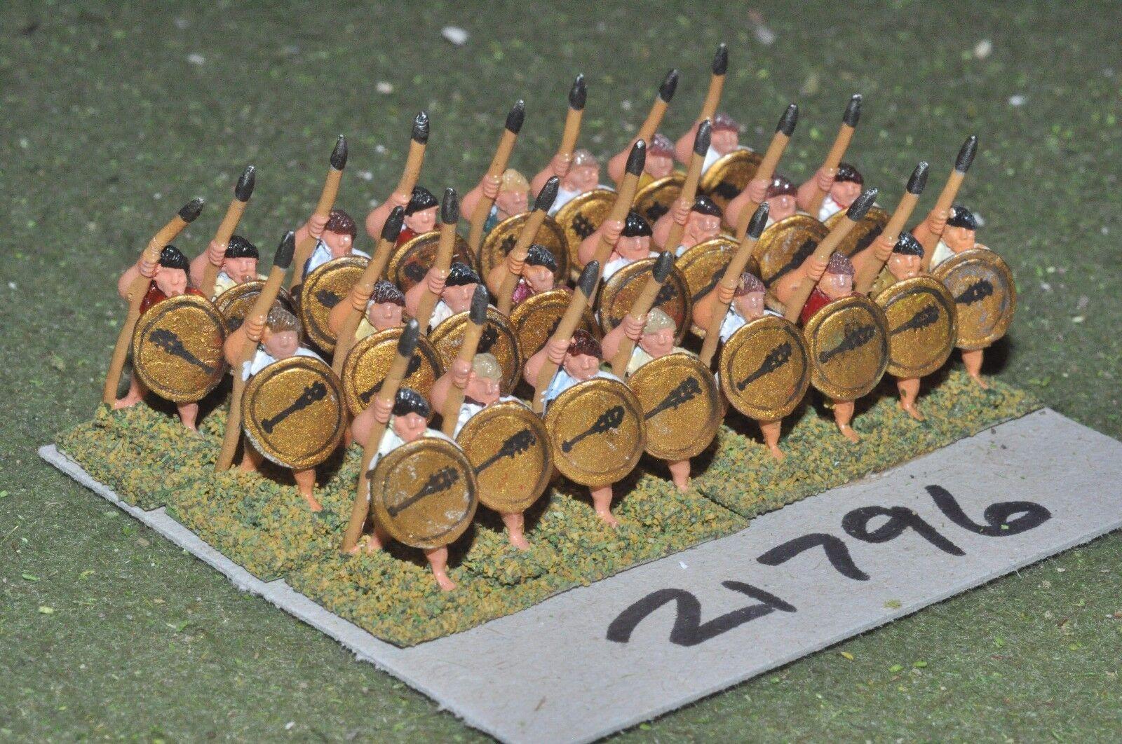 15mm classical   greek - hoplites 24 figs infantry - inf (21796)