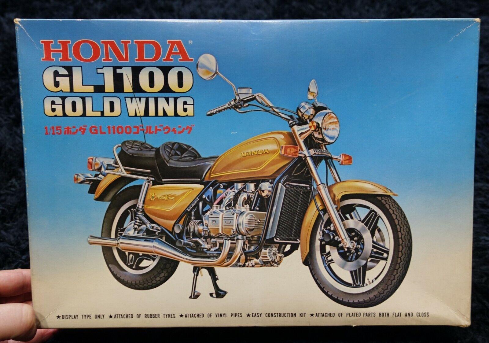 HONDA GL1100 gold gold gold WING  1 15  FUJIMI  MODEL KIT HONDA GL 1100  gold WING f5c