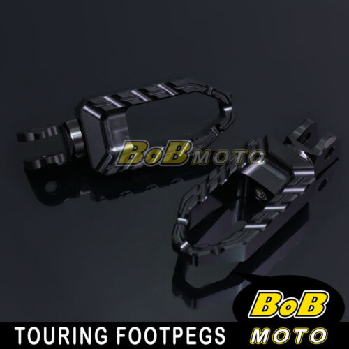 For Buell XB12S Lightning 04 05 06 07 08 09 Black Touring CNC Front Foot peg