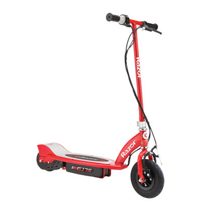 Razor E175 Motorized 24 Volt Rechargeable Electric Power Kids Scooter, Red