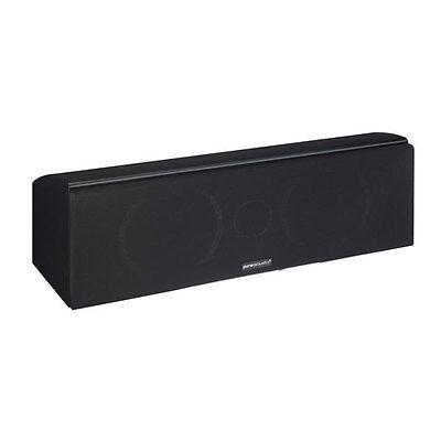 Pure Acoustics Noble II C schwarz Stück Center-Lautsprecher 150 Watt Leistung